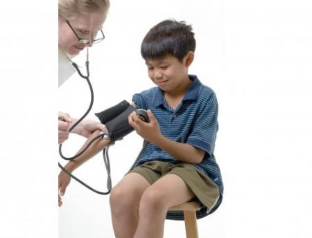 boy and nurse depicted in Health Care Reform project