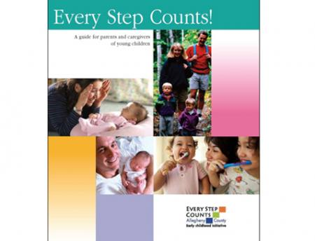"""Photo of cover of """"Every Step Counts"""" guide"""