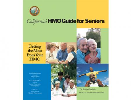 Photo of the cover of the HMO Guide or Seniors
