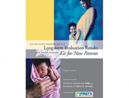 Photo of Parents Kit Evaluation Report Cover