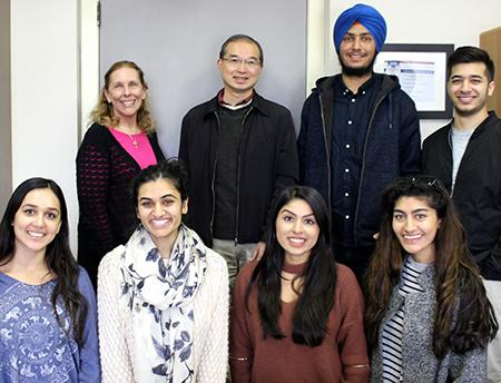 Researchers on the South Asian colorectal cancer team