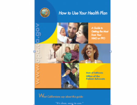 """Photo for """"How to Use Your Health Plan"""" guide"""