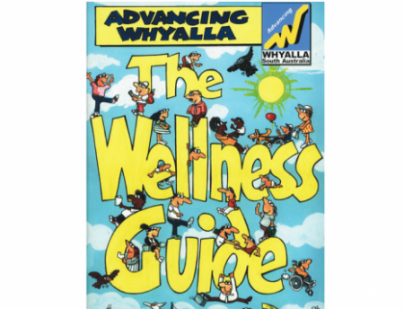 """Photo of cover of """"Advancing Whyalla"""" guide"""
