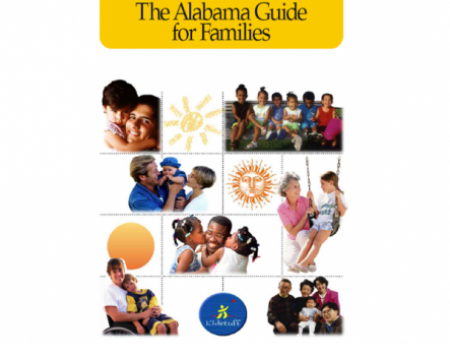 Photo of cover of the Alabama Guide for Families